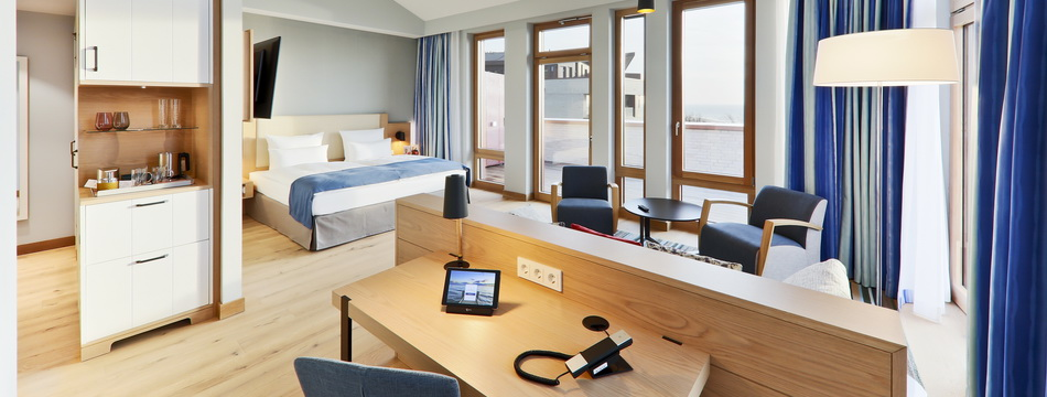 Wellness Resort Südstrand, Juniorsuite